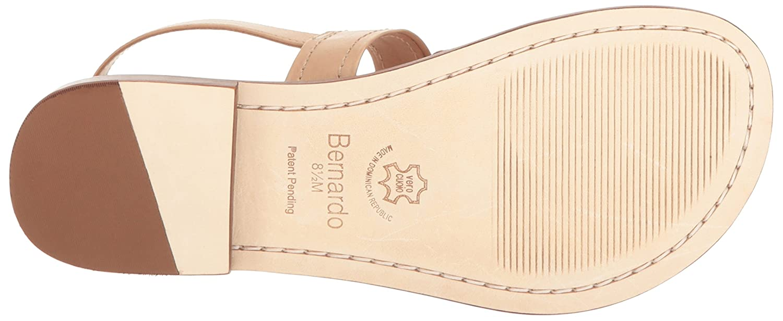 Bernardo Womens Tegan Flat Sandal