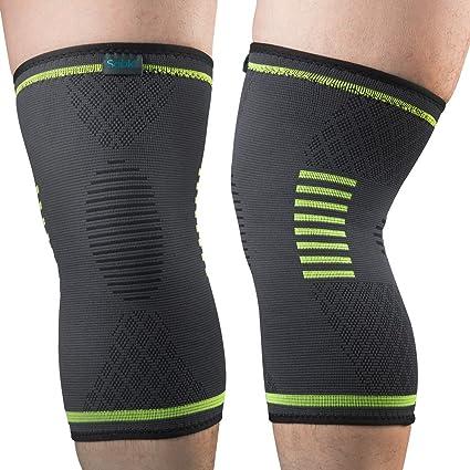 Amazon.com: Rodillera de compresión para artritis, correr ...