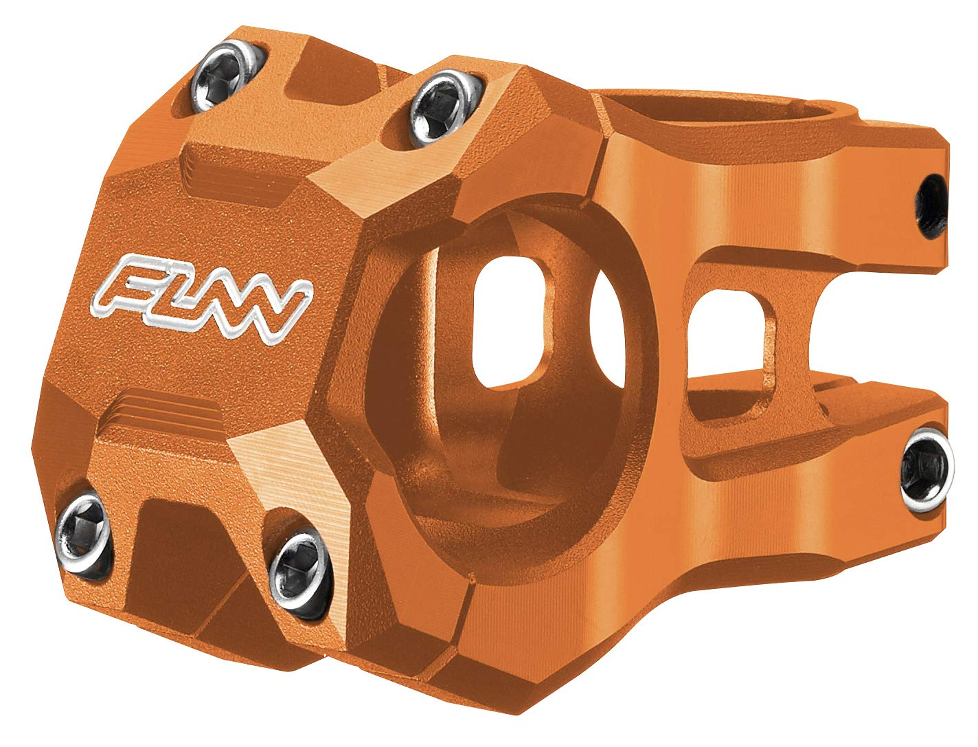 Funn Funnduro MTB Stem Bar Clamp 35mm Length 45mm, Red
