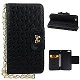 iPhone 5S Case, iPhone SE Flip Wallet Case, Rosa