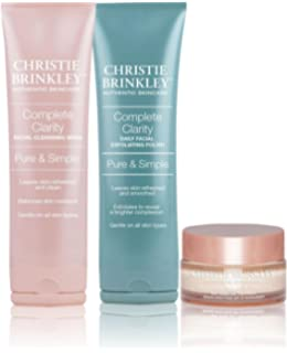 Christie Brinkley Complete Clarity Daily Facial Exfoliating Polish Eos Evolution of Smooth - Lip Balm Sphere Coconut Milk - 0.25 oz. (pack of 12)