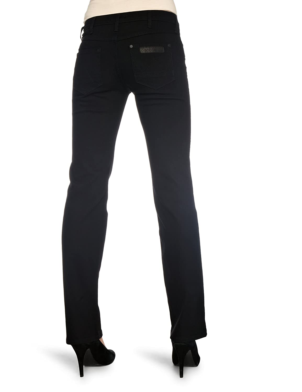 Wrangler Damen Jeans W212YJ174, Gr. 30/30, Schwarz (true black 174):  Amazon.de: Bekleidung