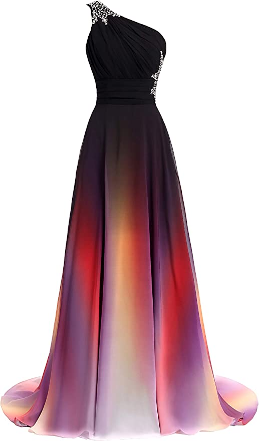 Women's One Shoulder Wedding Dress