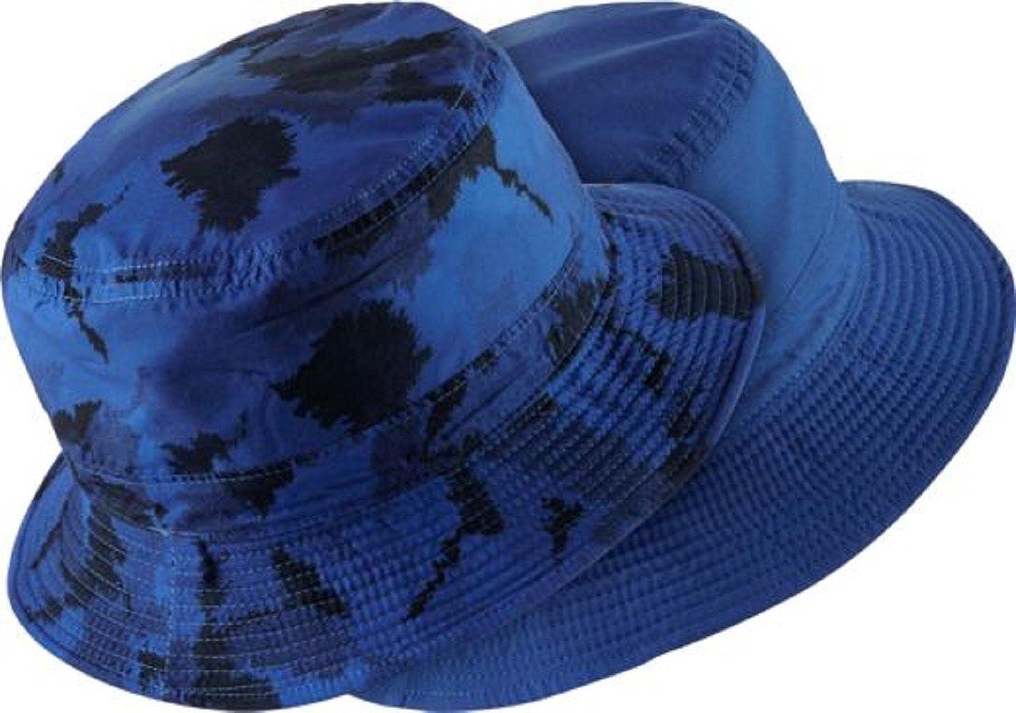 Amazon.com  Nike Men s Golf Bucket Hat (480 Game Royal Black 5465bbc89c0