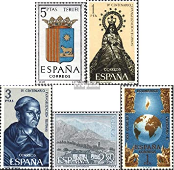 Prophila Collection España Michel.-No..: 1586,1587,1588,1589,1590 ...