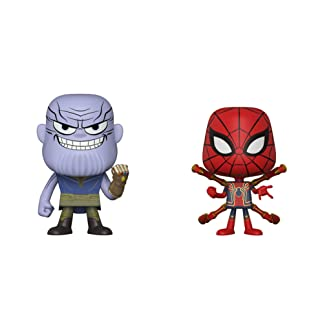 Funko Vynl Marvel: Avengers Infinity War-Thanos and Iron Spider, Multicolor