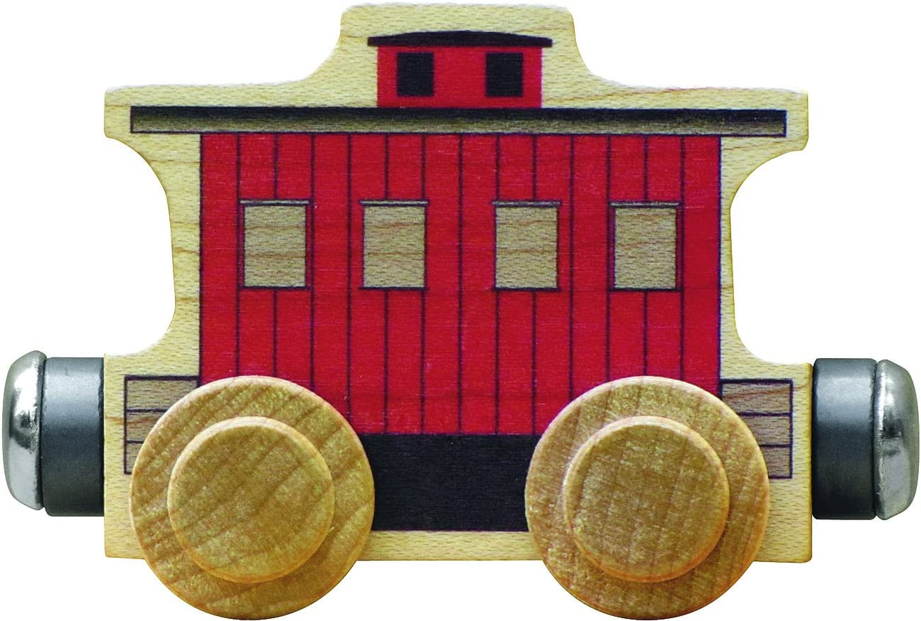 NameTrain Classic Caboose Car Made in USA