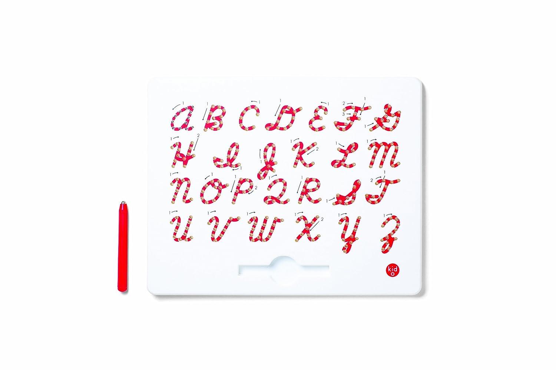 Kid O 1710364 - Magnatab kursiv mit Kleinbuchstaben, Schreibenlernen in Schreibschrift, magnetisch 10363K
