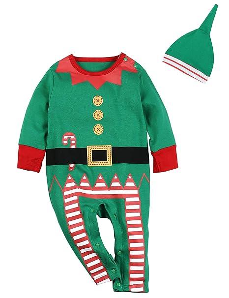 Amazon.com: 4pcs navidad Outfit Set Bebé Niños Niñas Funny ...