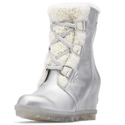 Sorel - Disney Frozen 2 Women's Joan of Arctic Ankle Boot, Pure Silver | Shoes