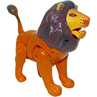 Sajani Battery Operated Motor-Driven Walking Super Lion for Kids