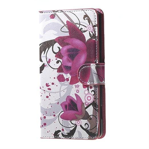 3 opinioni per Rainbow Jam 4G Smartphone Pelle,PU Leather Flip Folio Portafoglio Custodia Cover