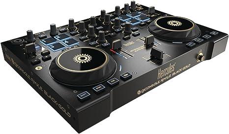 Hercules DJ Console rmx2 Black And Gold: Amazon.es: Instrumentos ...