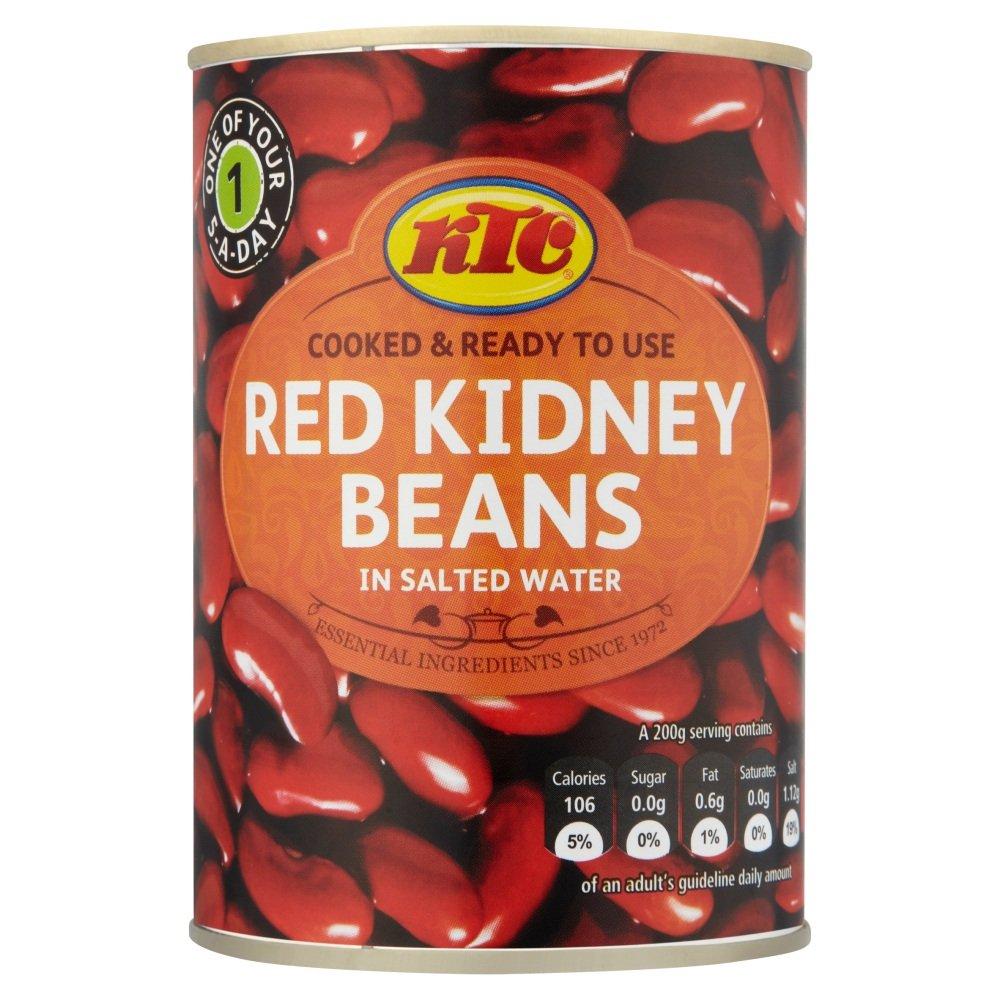 KTC Red Kidney Beans, 400 g