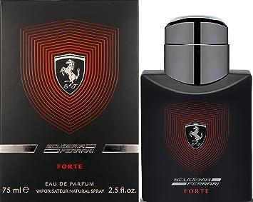 Amazoncom Ferrari Scuderia Forte Eau De Parfum Spray For Men 25