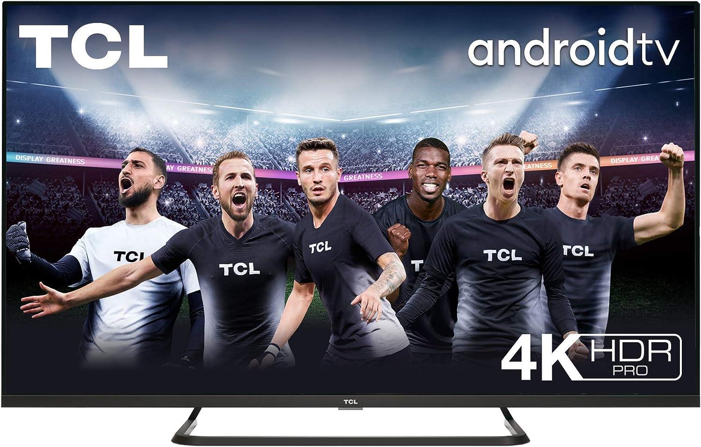 TCL 65EP680 Televisor 165 cm (65 pulgadas) Smart TV (4K UHD, HDR10 PRO, Micro Dimming Pro, Android TV, Alexa, Google Assistant): Amazon.es: Electrónica