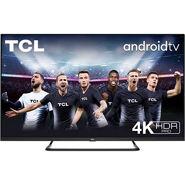TCL 55EP640 Televisor 139 cm (55 Pulgadas) Smart TV con Resolución 4K UHD, HDR10, Micro Dimming Pro, Android TV, Alexa, Google Assistant [Clase de eficiencia energética A+]: Amazon.es: Electrónica