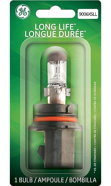 GE Lighting 9006XSLL/BP Long Life OEM Halogen Replacement Headlight Bulb