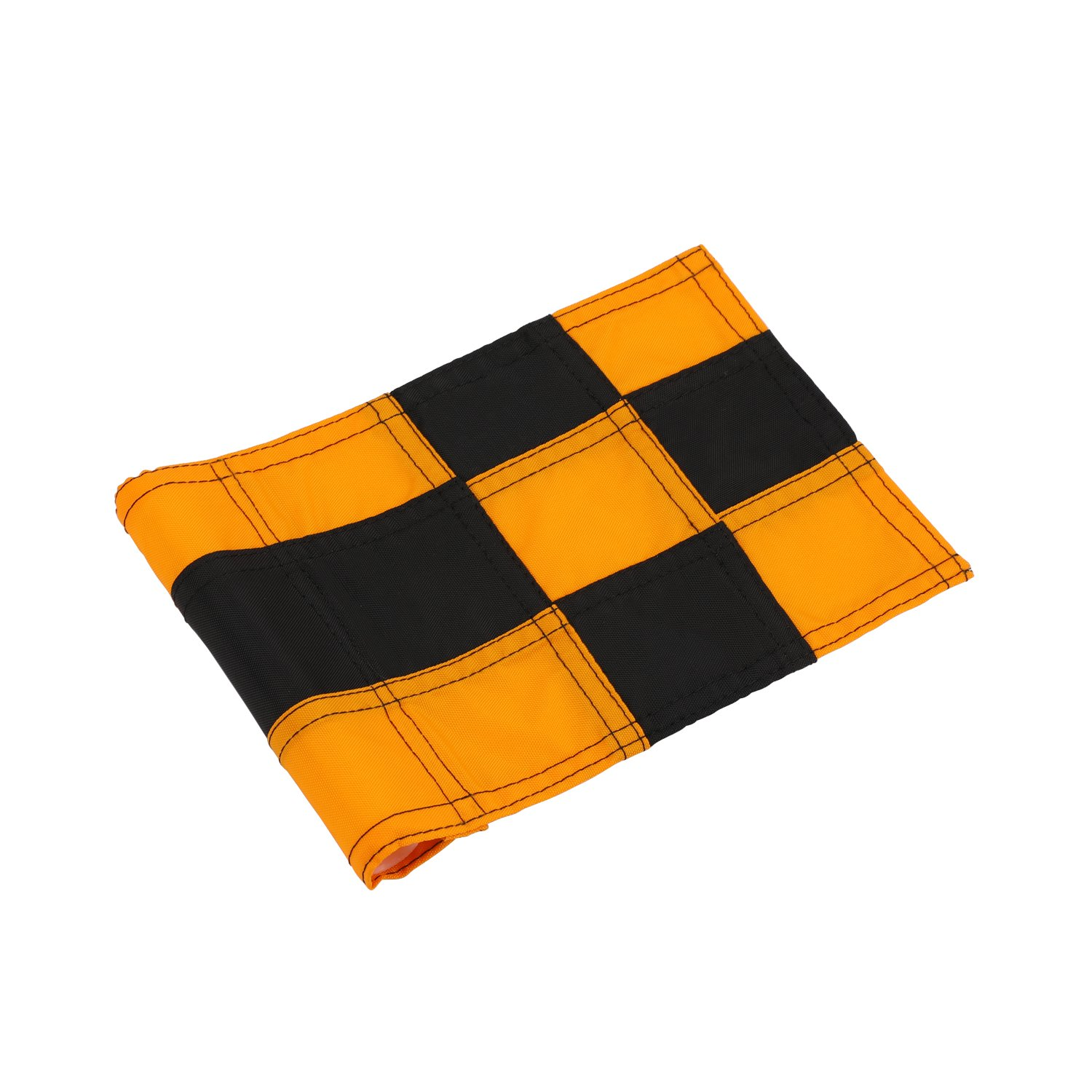 KONDAY Golf Flag,Practice Green Golf Flags, Solid Nylon and Checkered Traning Golf Putting Green Flags, Indoor Outdoor Backyard Garden Portable Golf Target flags
