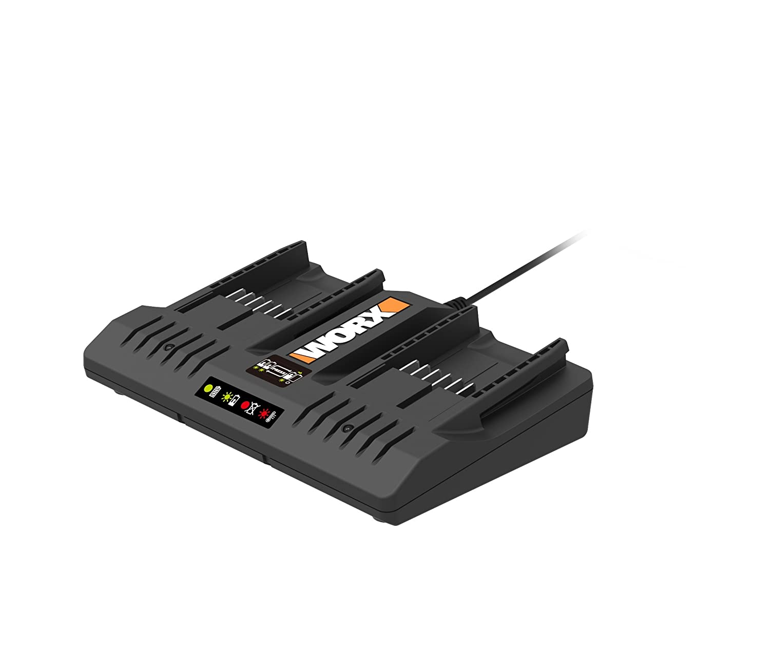 WORX WA3875 20V Li-Ion Dual Port 2 Hour Charger