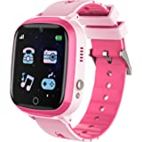 Kids Smart Watch,Touch Screen Kids Games Watchs with Call SOS Camera Music Player Alarm Clock Calculator 7 Games Watchs…
