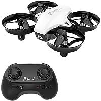 Potensic Mini Drone Drone con Telecomando Quadricottero Funzioni Sospensione Altitudine Un Pulsante di Decollo Atterraggio modalità Senza Testa Adatto per Principianti Buon Regalo per Bambini Bianco