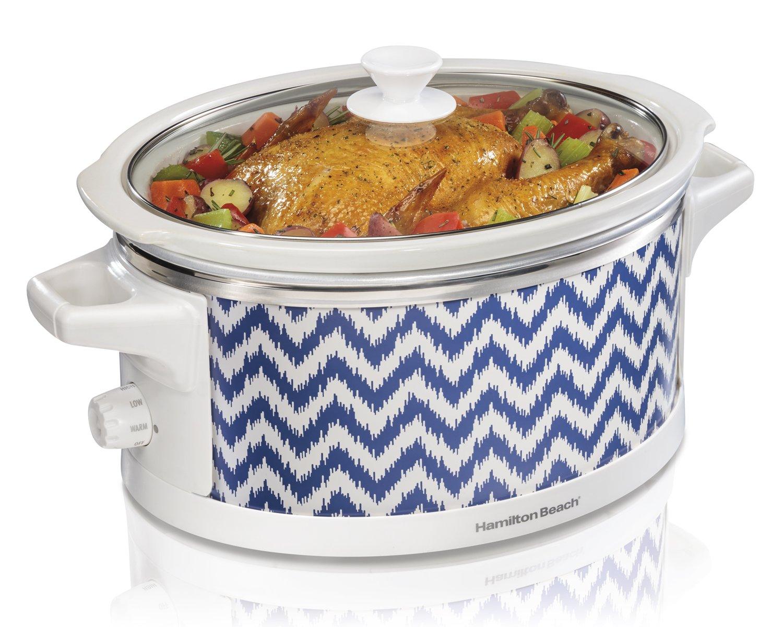 Hamilton Beach 33760 Wrap and Serve Slow Cooker, 6-Quart