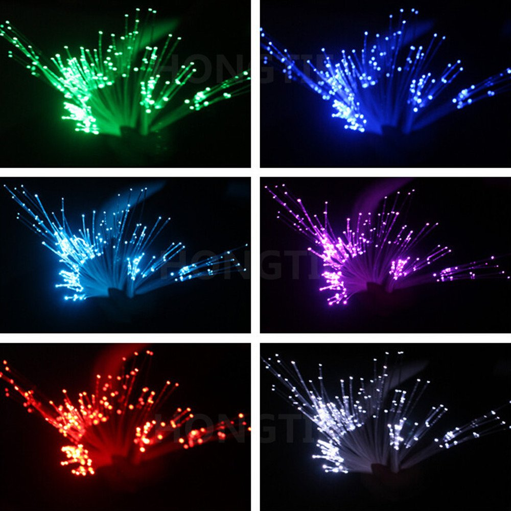 100M/roll 2.0mm PMMA plastic end glow fiber optic cable for all kind star sky ceiling led light engine driver light source by HongTie (Image #2)