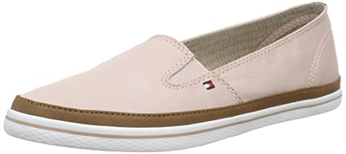 Tommy Hilfiger K1285ESHA 7D, Mocasines para Mujer, Rosa-Pink (Dusty Rose 614), 38 EU: Amazon.es: Zapatos y complementos