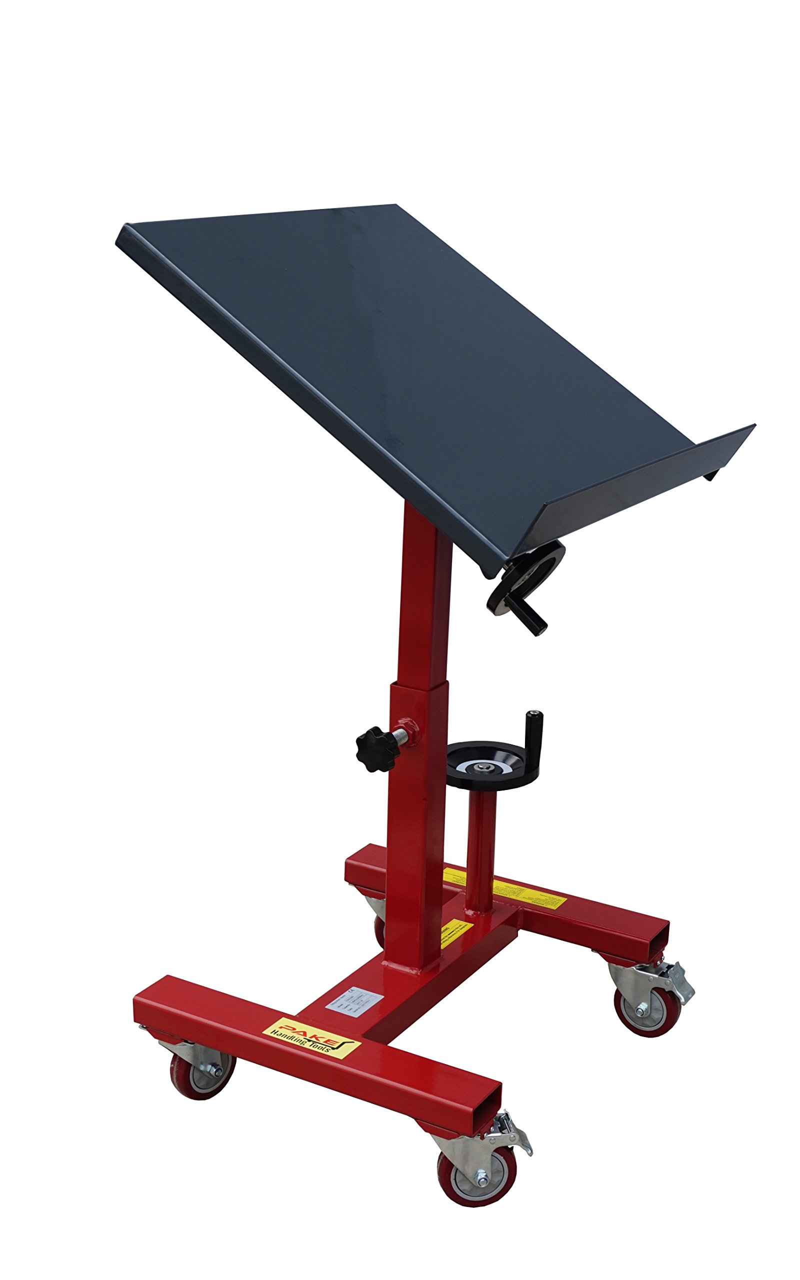 Pake Handling Tools - Tilting Work Table, 300 lbs Capacity, 24x24'', 31.5 to 42'' Height, 30 Degree Tilting by Pake Handling Tools (Image #1)