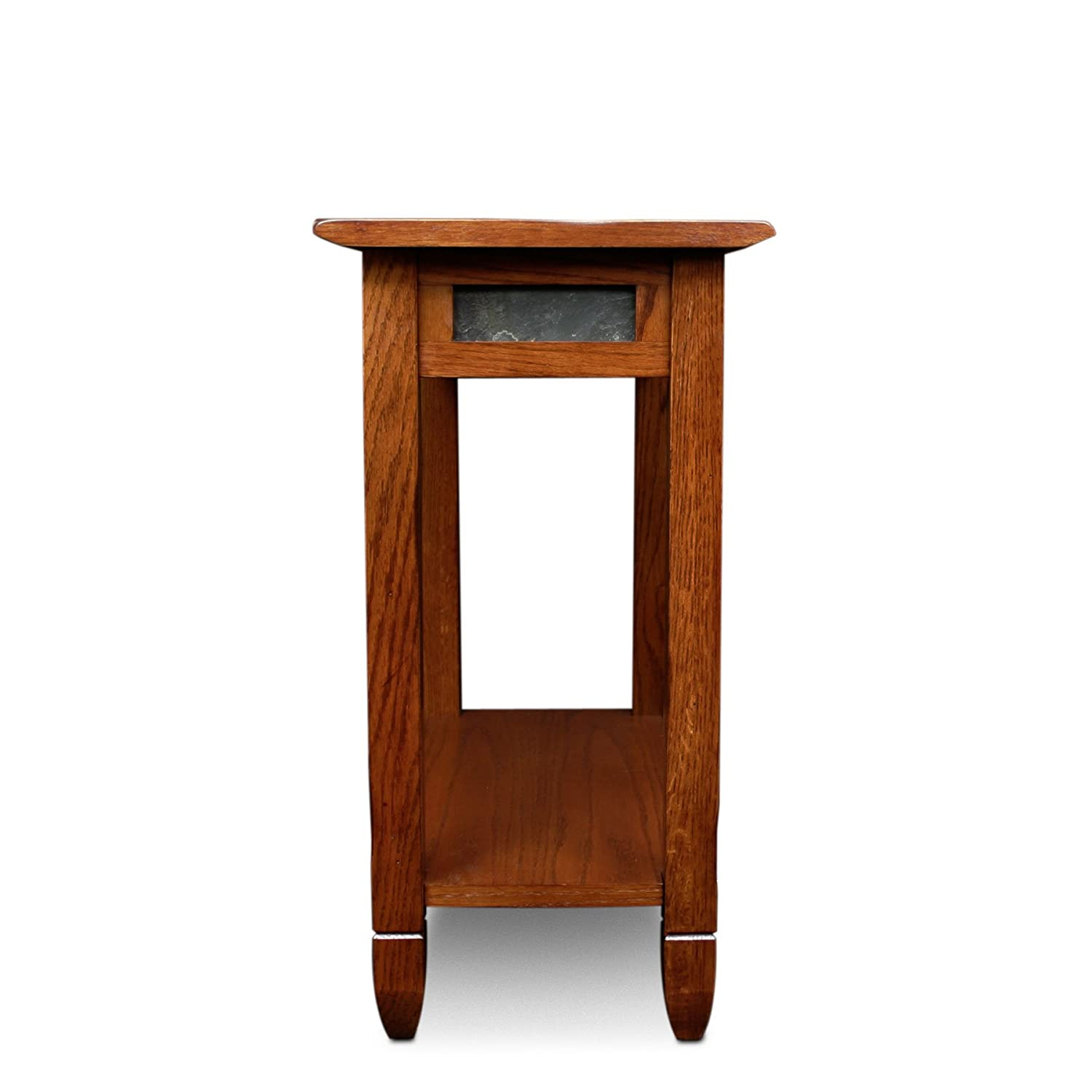 Amazon Leick Rustic Oak Chairside End Table Kitchen