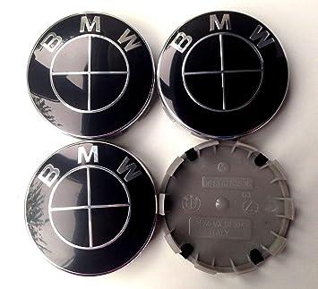 4 tapacubos para llantas de BMW con el logotipo de 68 mm, tapas completas para