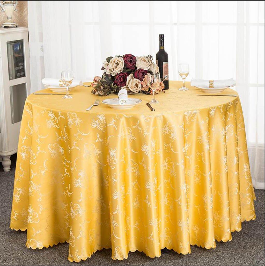 HHCQY Mantel de Tela Tela Tela de Color sólido Europeo Mantel de Mesa de café (Color : Morado, Tamaño : 160CM) 917d8c