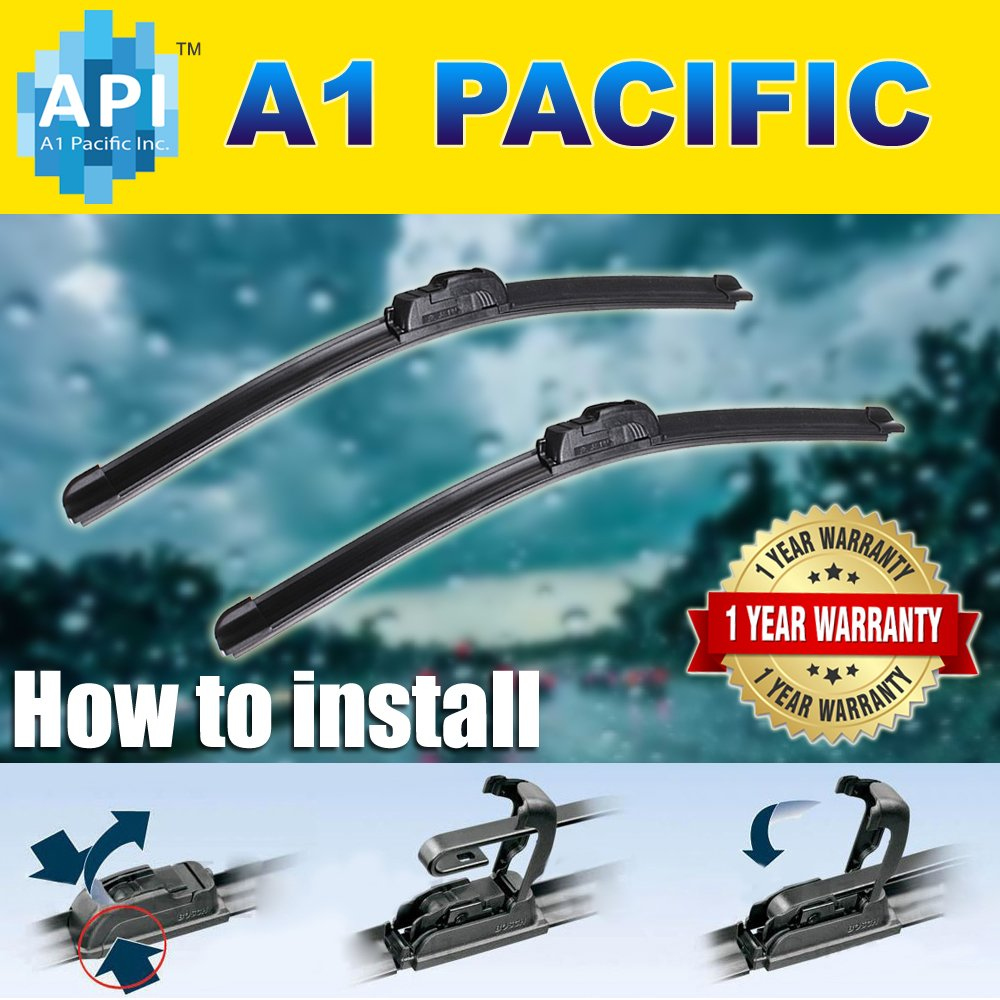 Amazon.com: Windshield Wiper Blades Bracket less J-HOOK All season 26