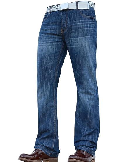 Neuf pour Hommes Smith and Jones Coupe Bottillon Large Bas Résistant Mode  de Marque Jeans Jean Homme  Amazon.fr  Vêtements et accessoires f295dc92768b