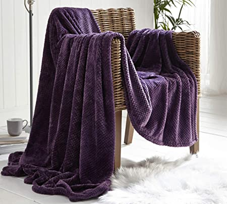 Teddy Bear Luxurious Throws Super Soft Warm Cosy Sofa And Bed Fleece Blankets Gc Afghans & Throw Blankets Home & Garden