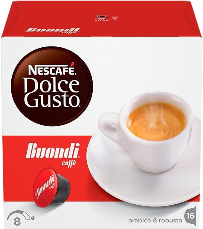 NESCAFÉ DOLCE GUSTO ESPRESSO BUONDÌ Caffè espresso 3 confezioni da 16 capsule...