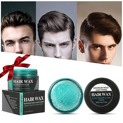 Cera per capelli LuckyFine Gel per Capelli Uomo, Crema Styling, Crema per  Capelli Classico, Qualità Professionale per Parrucchieri, Trasparente Gel  Cera