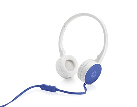 d980a6e65a4 Amazon.in: Buy HP H2800 Stereo Headset with Mic (Blue) Online at Low Prices  in India | HP Reviews & Ratings