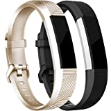 Tobfit For Fitbit Alta Bands/Fitbit Alta HR Bands (2 PACK), Replacement Fitbit Bands for Fitbit Alta HR and Fitbit Alta, Small/Large