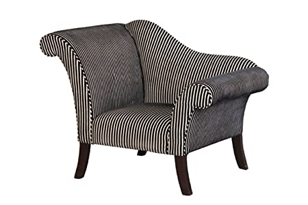 Swell Swish Black White Striped Chair Amazon Co Uk Kitchen Home Home Interior And Landscaping Dextoversignezvosmurscom