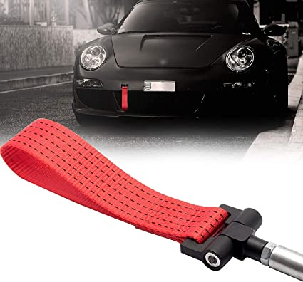 Red Xotic Tech JDM Track Racing CNC Aluminum Alloy Tow Hook for Porsche 911 991 Carrea Panamera