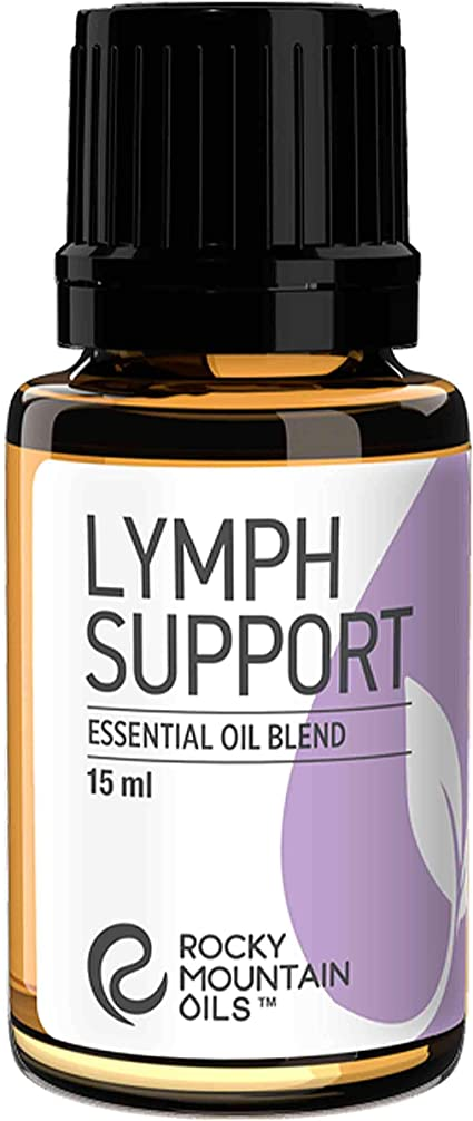 Rocky Mountain Oils Lymph Support Essential Oil Blend With 100 Pure And Natural Essential Oils Lymphatic Oil Massage Oil For Massage Therapy 15ml Health Personal Care