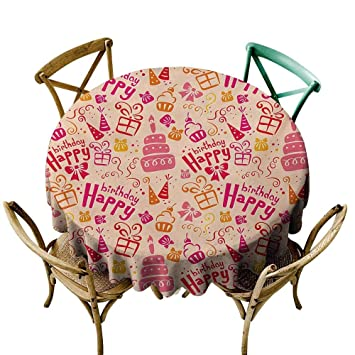 Amazon.com: StarsART - Mantel de mesa redondo para ...