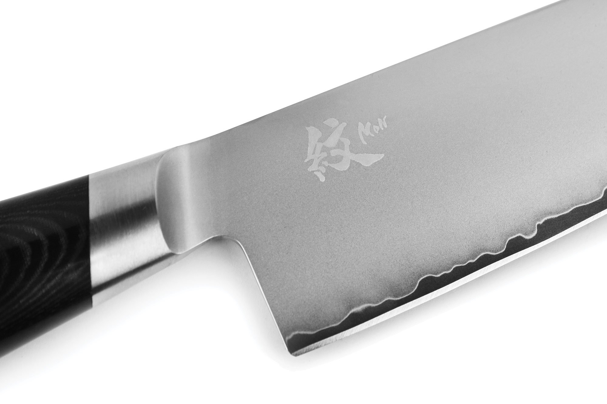 Yaxell Mon 8'' Chef's Knife - Made in Japan - VG10 Stainless Steel Gyuto with Micarta Handle by Yaxell (Image #2)