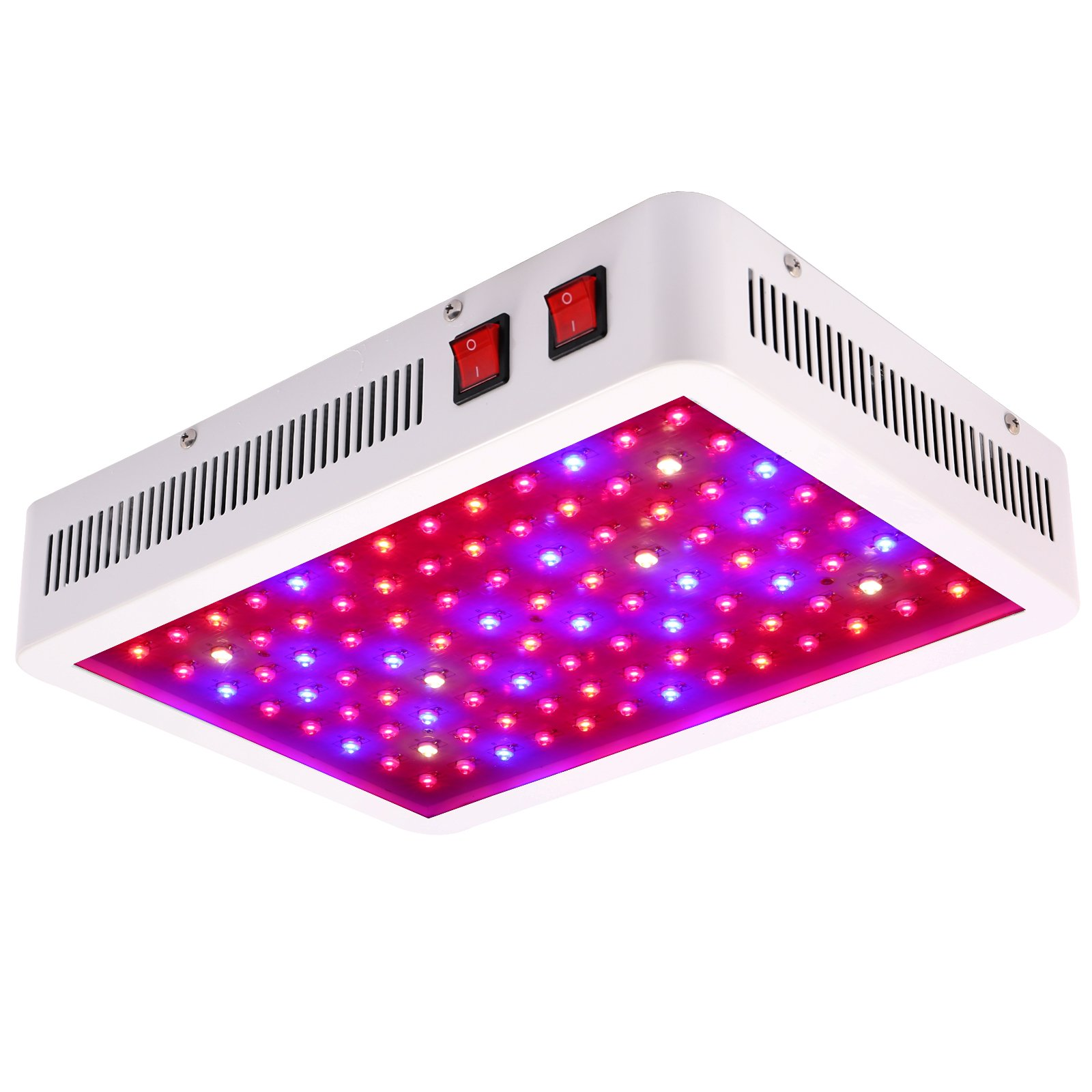 SYGAVLED 1000W LED Grow Light - High Yield - Full Spectrum Indoor Hydroponic Plants Veg Bloom Panel Lamp by SYGAVLED