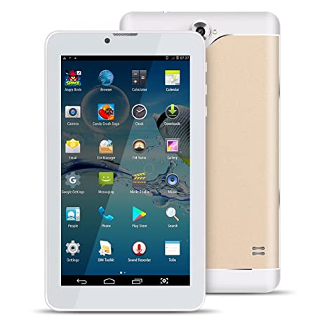 Kivors Tablet de 7 Pulgadas Super Delgado Android 4.4 Dual SIM ...