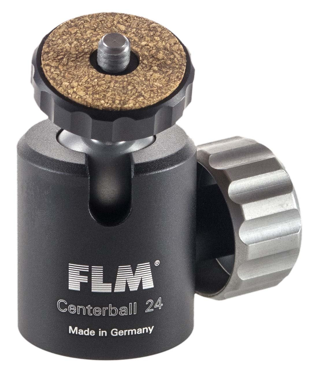 FLM CB-24E 24mm Centerball Head without Friction, 22.04 lbs Load Capacity