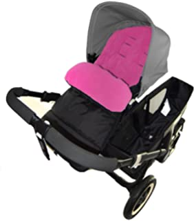 Saco para carrito de bebé compatible con Cybex Agis, cálido, color rosa de For