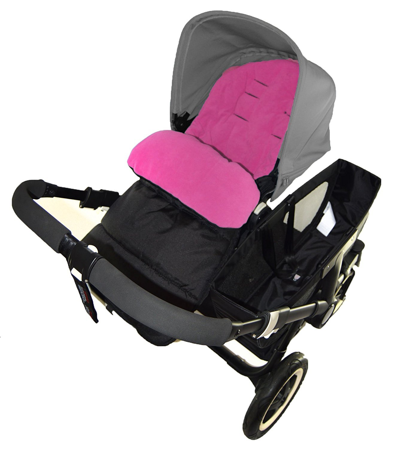 Footmuff//Cosy Toes Compatible with Mountain Buugy Cosmopolitan Pushchair Pink Rose